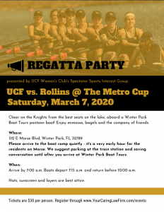 Metro Cup Rollins vs UCF rowing